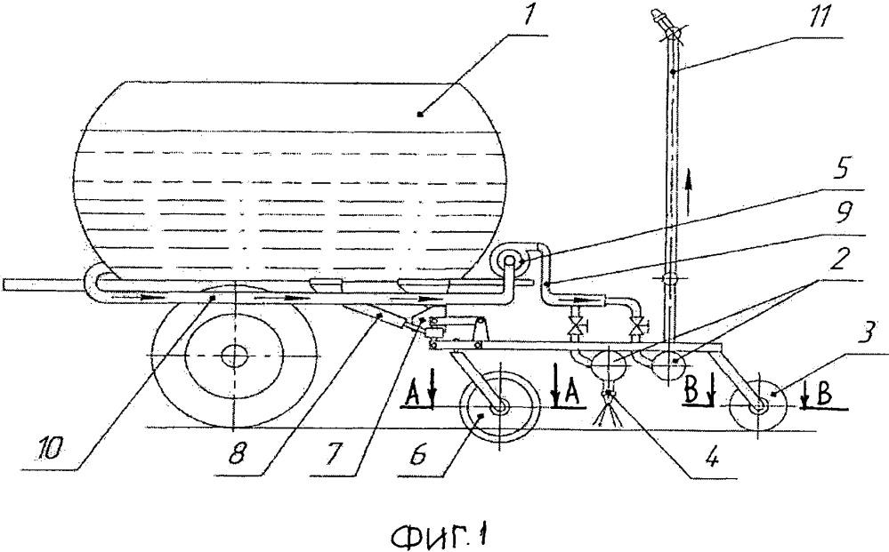 Агрегат для внесения в почву ферментативных реагентов