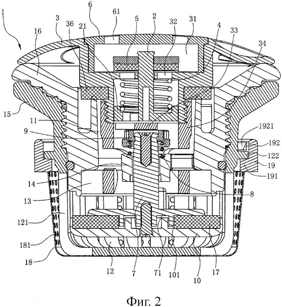 Надувательный клапан с функцией предохранительного клапана