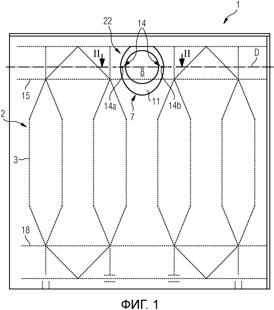 Лист упаковочного материала для изготовления упаковки и способ изготовления упаковок