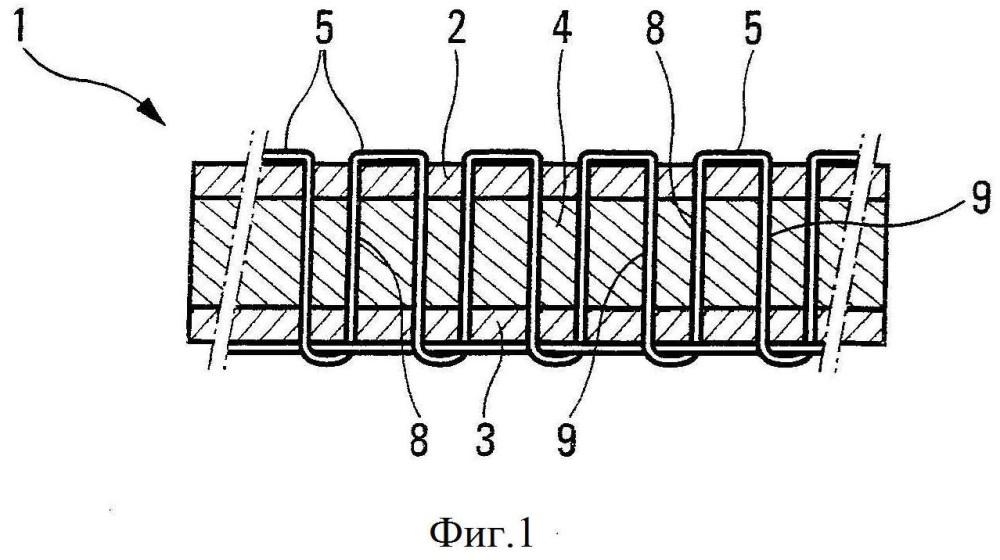 Способ производства двухслойной термоструктурной монолитной композиционной детали и производимая деталь
