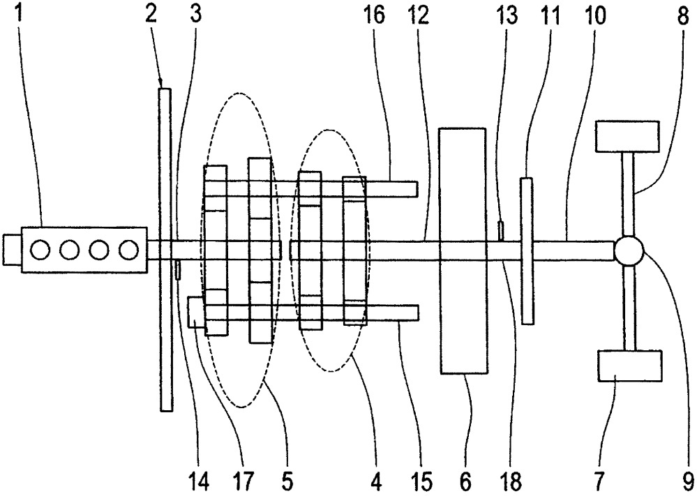 Способ обеспечения подачи масла в автоматизированной коробке передач и приводной механизм транспортного средства