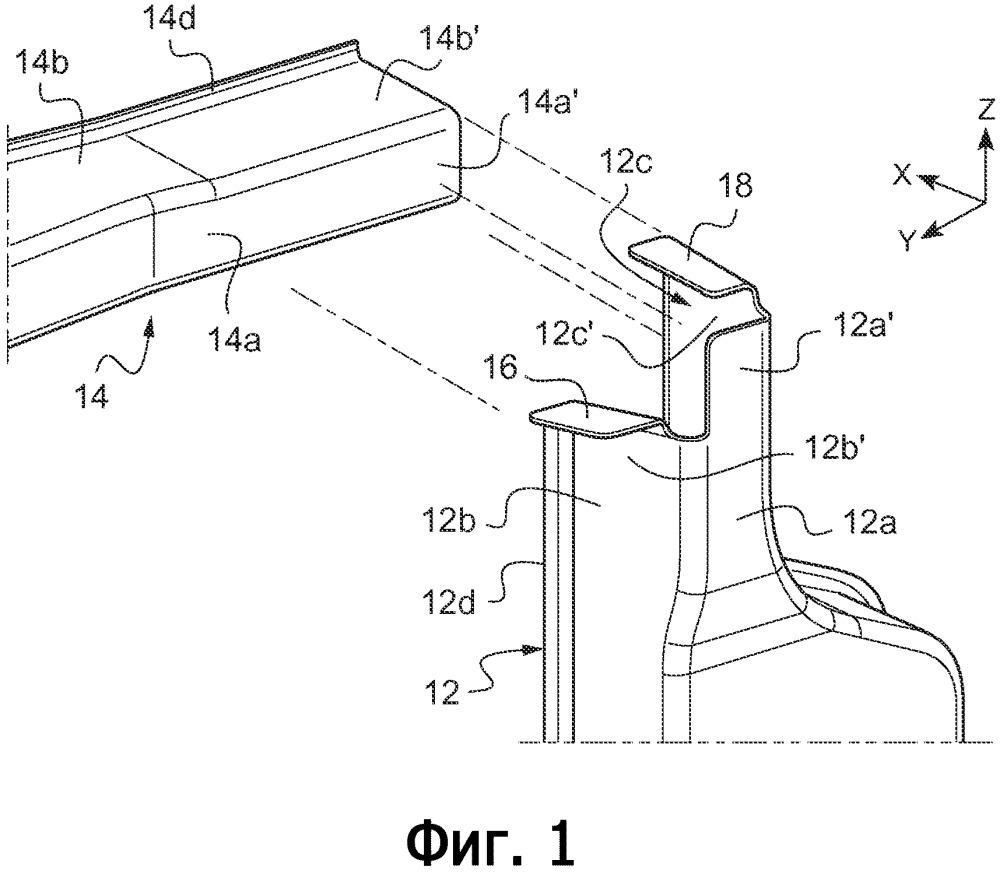 Надежное соединение усилительных вставок при помощи полимерного материала без сварки или завинчивания вставок