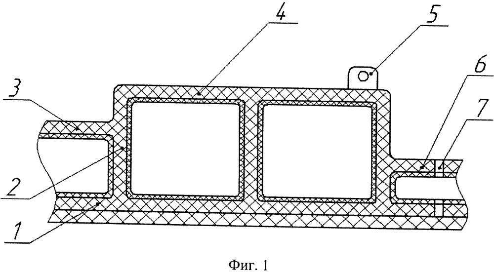 Способ изготовления объёмных композиционных панелей