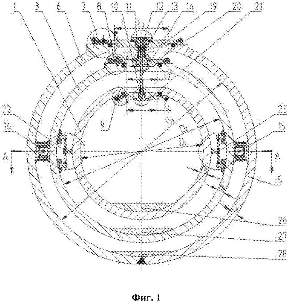 Самобалансирующаяся устойчивая к давлению конструкция корпуса