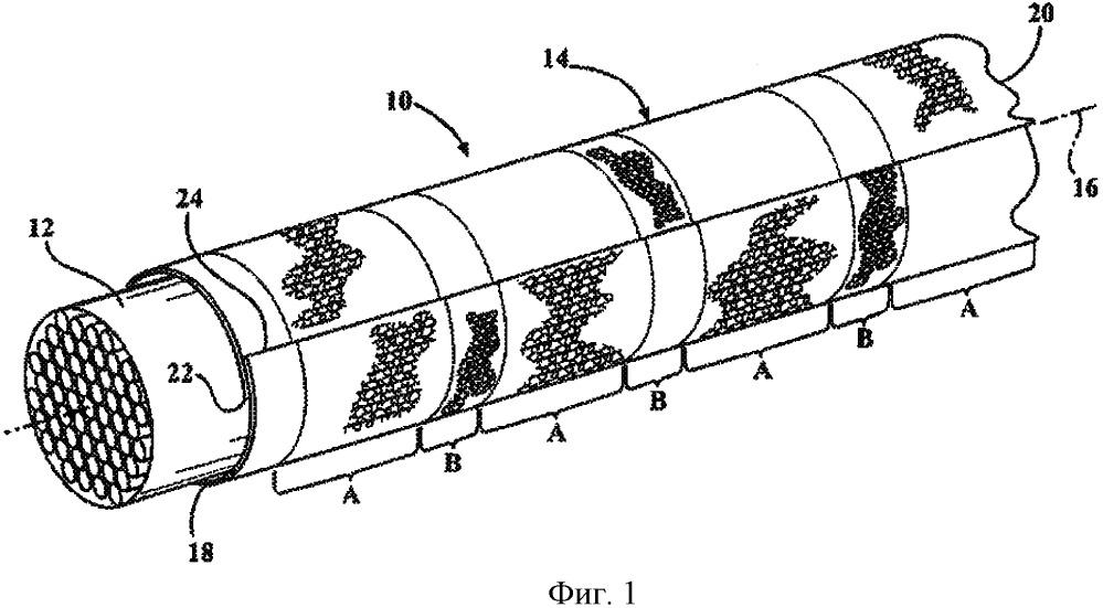 Оборачиваемая текстильная оплетка и способ ее изготовления