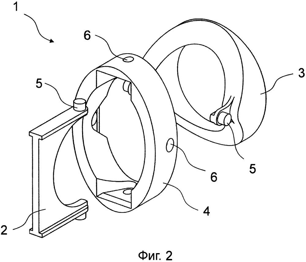 Карданное крепление для воздушного вентиляционного клапана и воздушный вентиляционный клапан