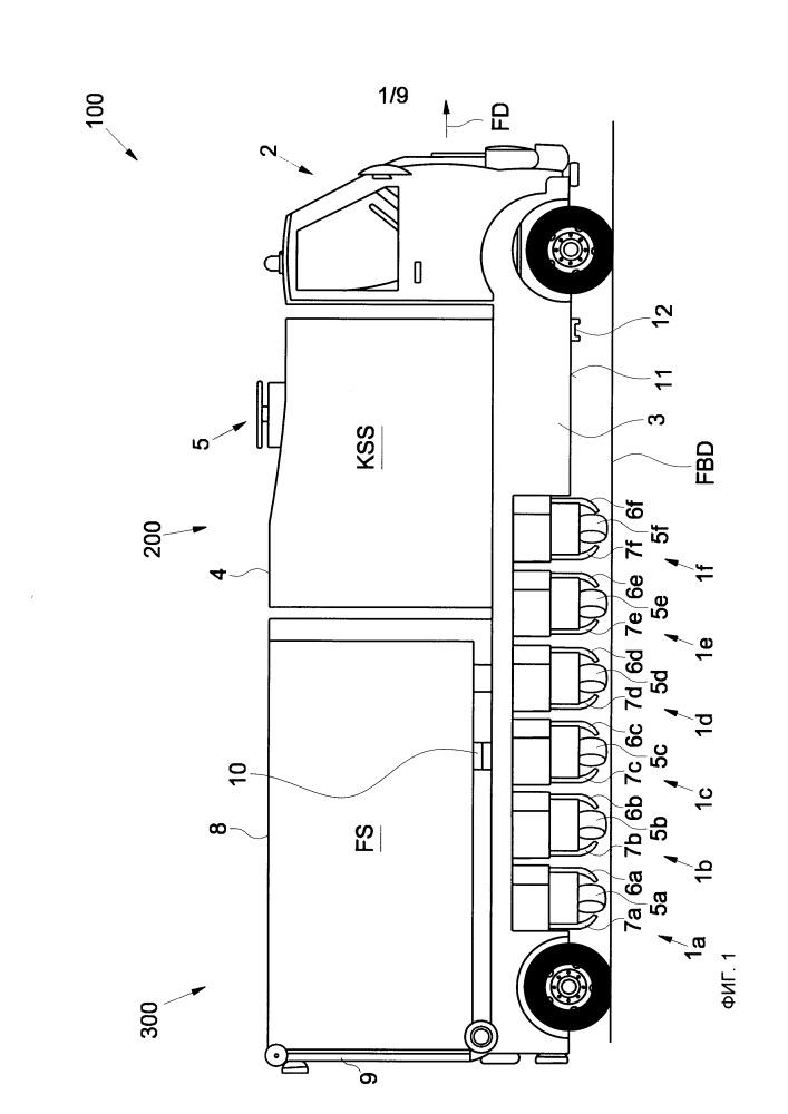 Фрезерная машина для дорожных поверхностей или тротуаров