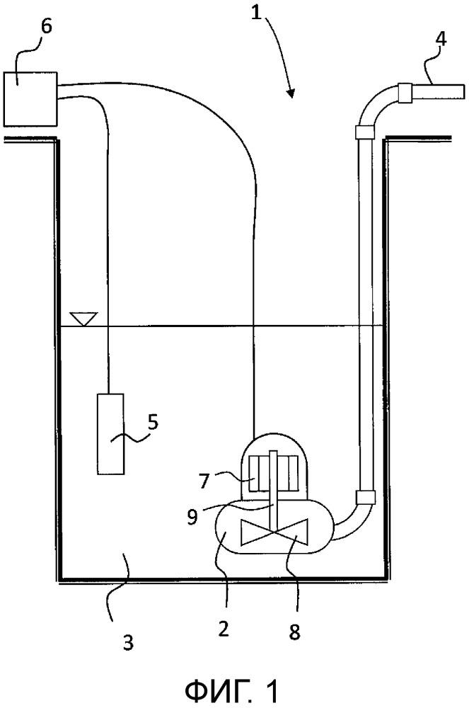 Способ отключения насоса, а также конструкция насосной станции