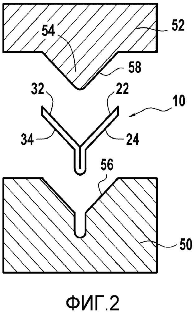 Способ изготовления усиливающего кромочного элемента лопатки газотурбинного двигателя