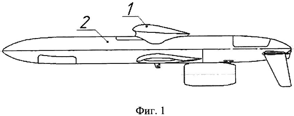 Летательный аппарат с дополнительным сбрасываемым крылом