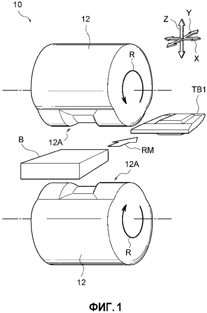 Способ изготовления металлической пластины с варьируемой толщиной, способ изготовления прессованной детали и обрабатывающая машина