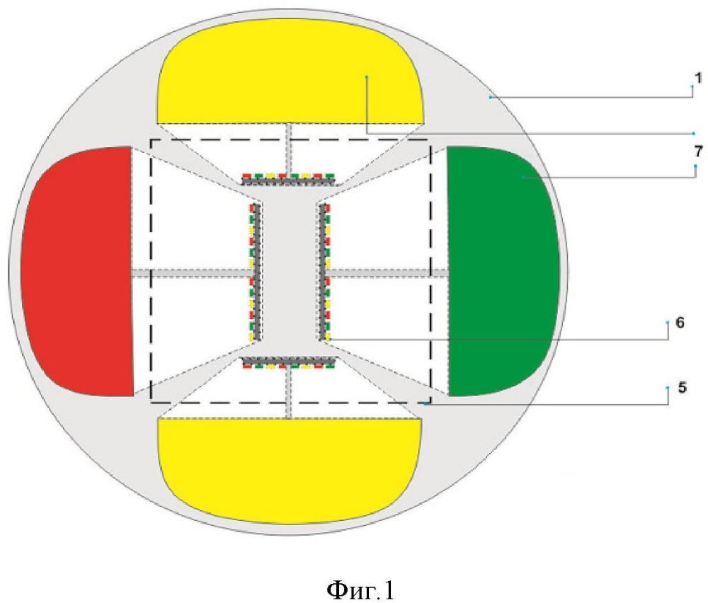 Управляемый дифференцированный дорожный маркер и способ регулирования дорожного движения.