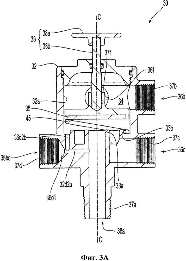 Сборочный узел гидравлического регулирующего клапана и привода клапана