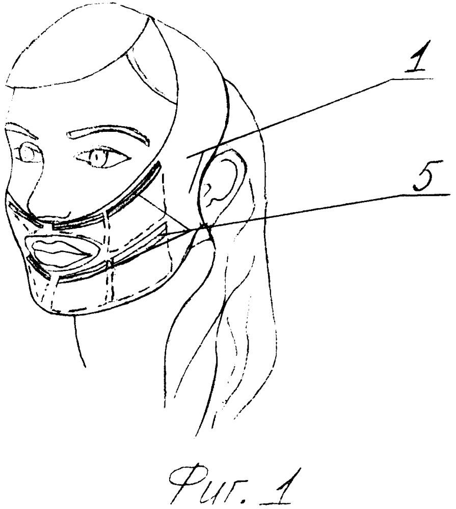 Компрессионная охлаждающая маска для лица