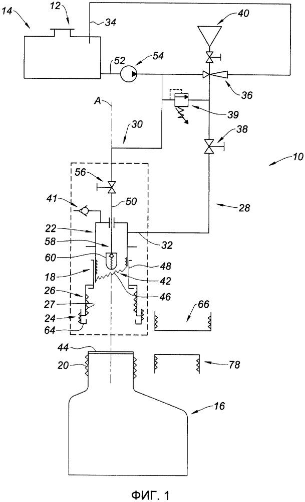 Устройство для перемещения жидкости из бидона в бак с соблюдением герметичности