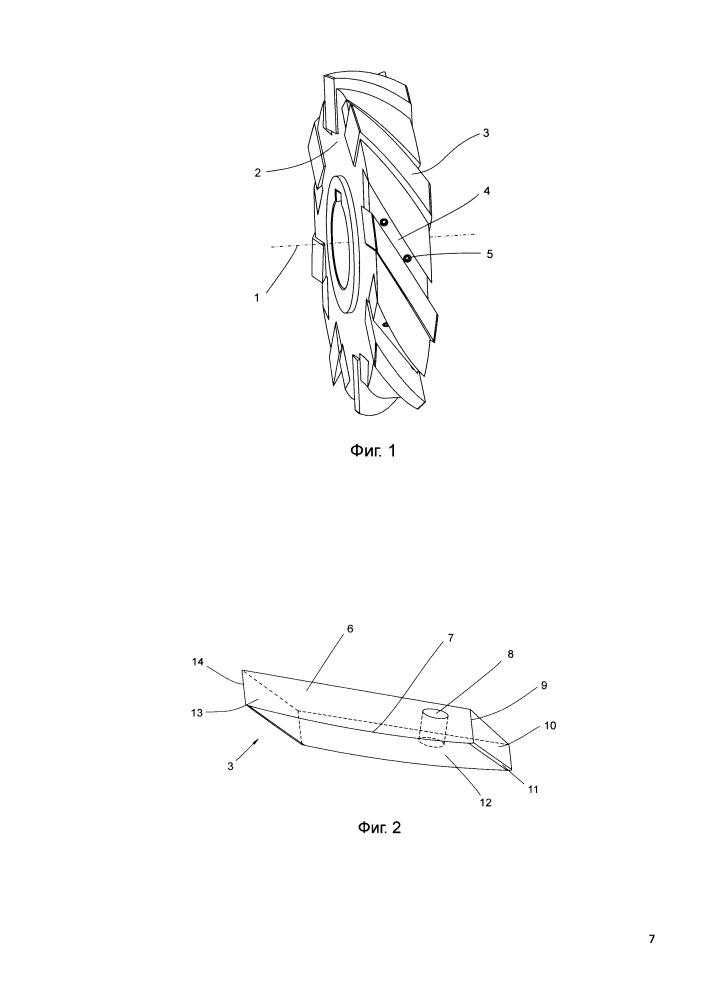 Режущий инструмент для обработки металлов резанием