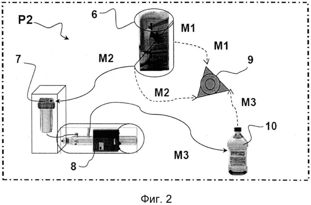 Способ промышленного получения морской воды, подходящей для пищевого применения