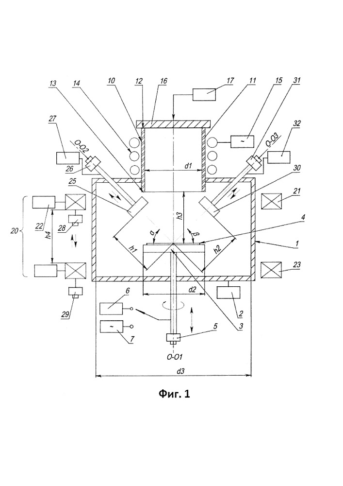 Устройство для вакуумно-плазменного осаждения материалов с ионной стимуляцией