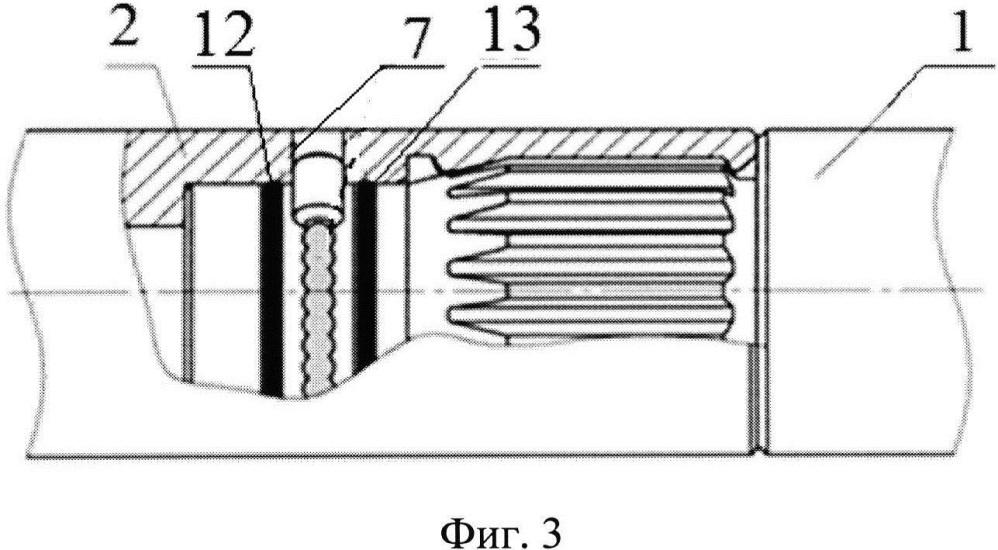 Соединение быстроразъёмное шлицевое универсальное