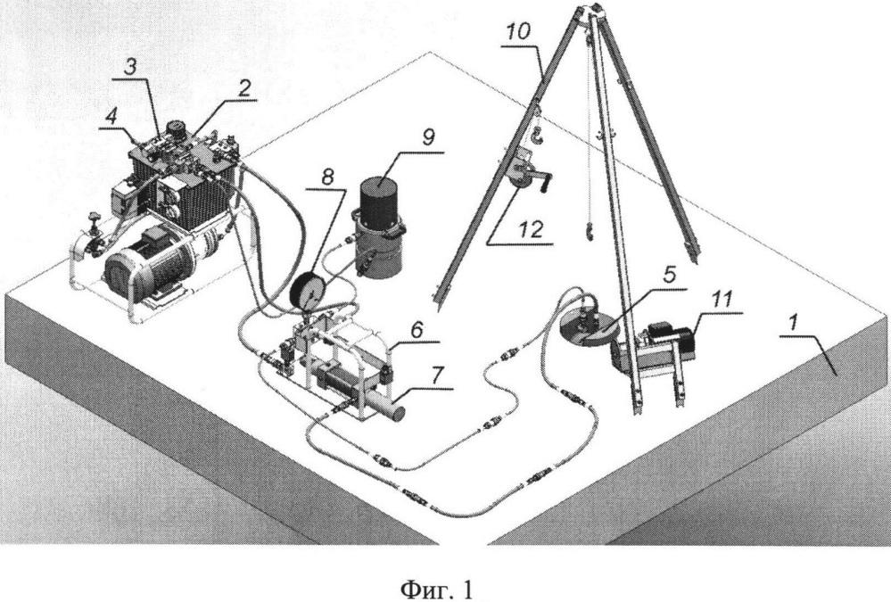 Комплексная система для определения характеристик прочности льда в натурных условиях и на образцах