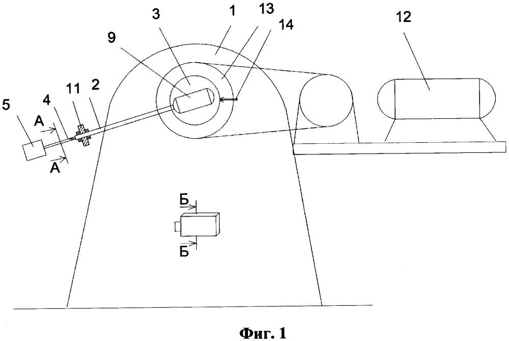 Маятниковый копер для испытания образцов материалов при ударном нагружении