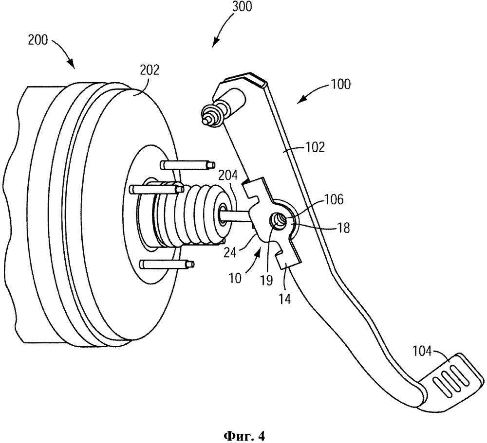 Выравнивающее устройство для узла тормозной системы транспортного средства