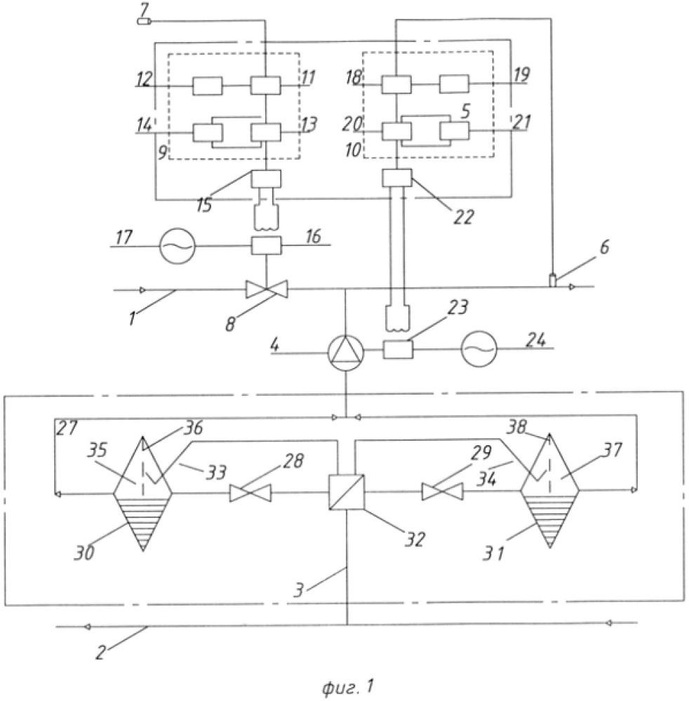 Устройство для автоматизированного расхода тепла на отопление в системах теплоснабжения