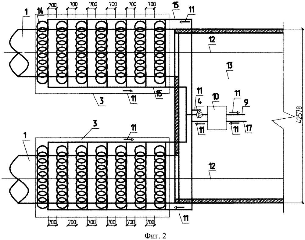 Способ извлечения и использования геотермального тепла для охлаждения грунтов вокруг тоннелей метрополитена