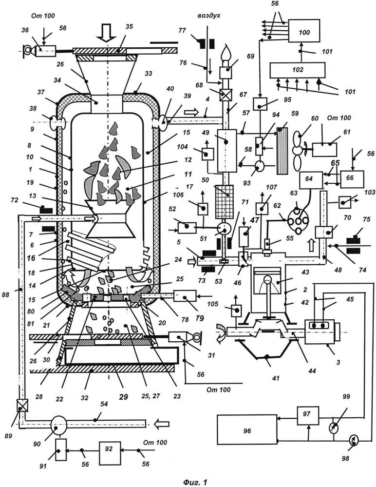 Способ управления режимом работы газогенераторной электроустановки и газогенераторная электроустановка