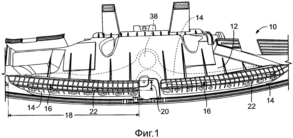 Сопловый узел обогревателя, приборная панель транспортного средства и способ изготовления соплового узла обогревателя