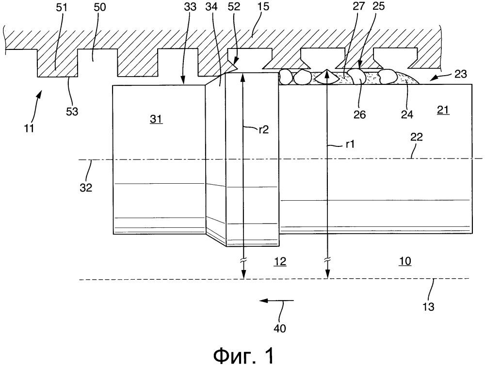 Обрабатывающий инструмент, в частности накатной инструмент, и способ обработки цилиндрической поверхности скольжения