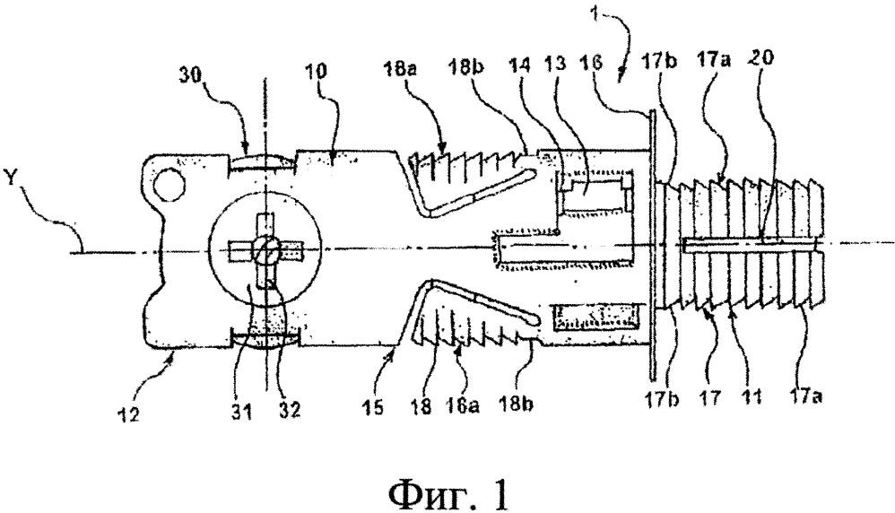 Соединительное устройство для компонентов предмета мебели