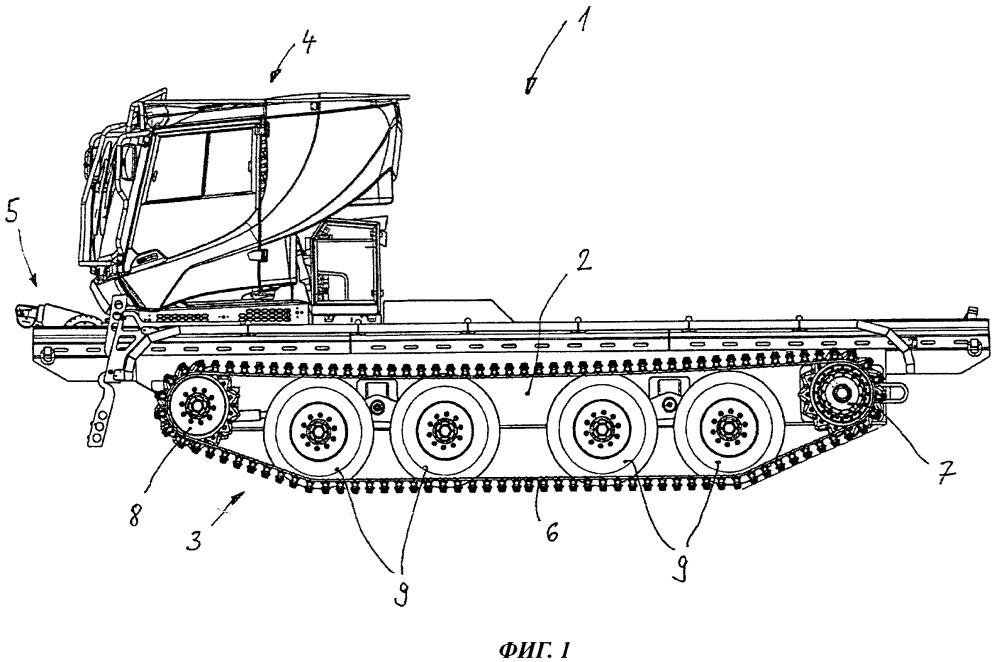 Гусеничное транспортное средство гражданского назначения