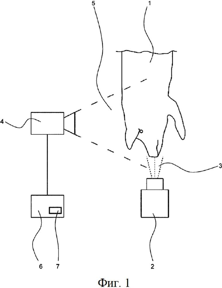 Система для контроля эффективности анестезии животного, подлежащего убою