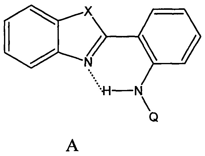 Бесцветные люминофоры ряда фенилбензазолов