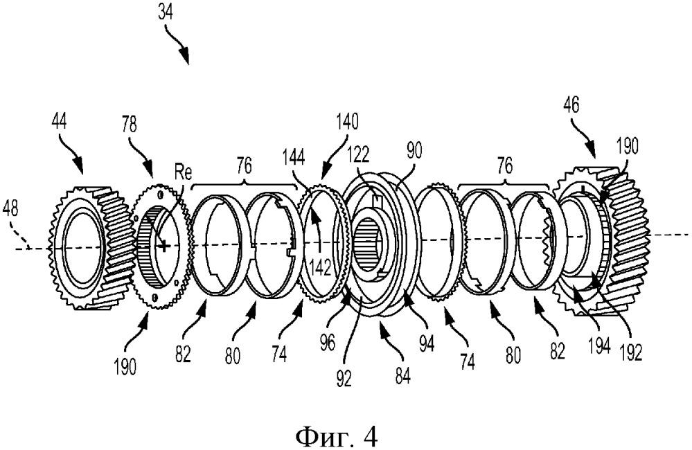 Блокирующее кольцо синхронизатора коробки передач, выполненное из термопластичного материала