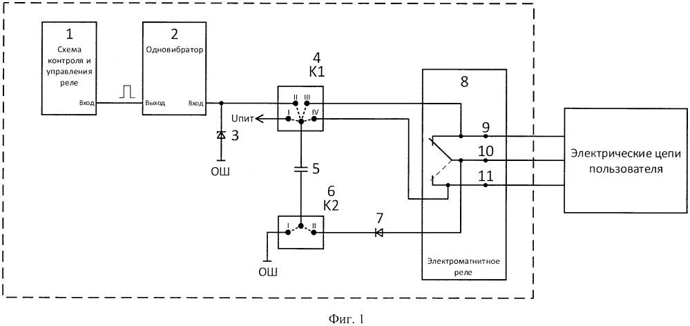 Способ контроля срабатывания контактов электромагнитного реле и устройство для его осуществления