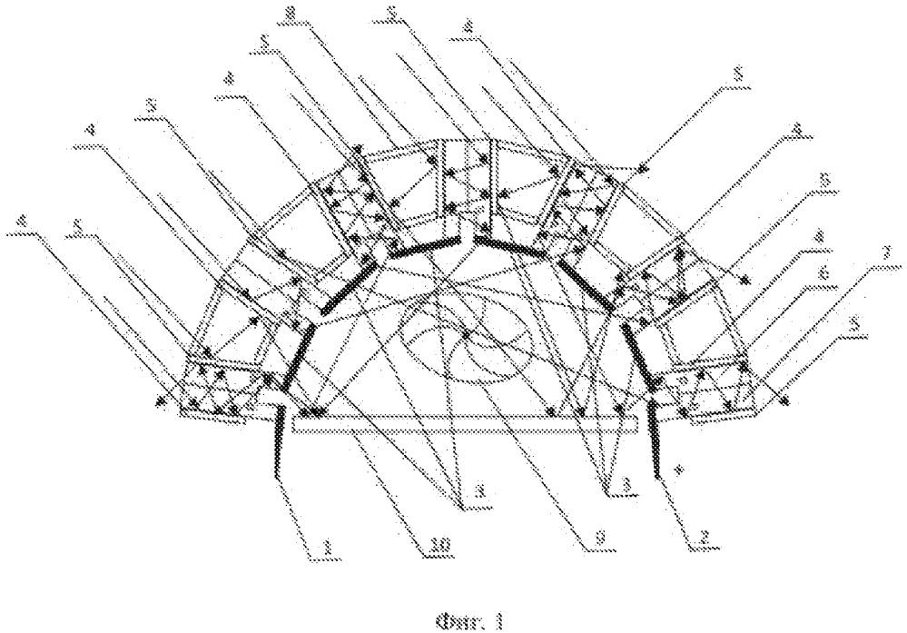 Полупроводниковая солнечная батарея на основе концентратора из фоточувствительных зеркальных полупрозрачных металлических электродов с использованием термоэлектрического преобразования