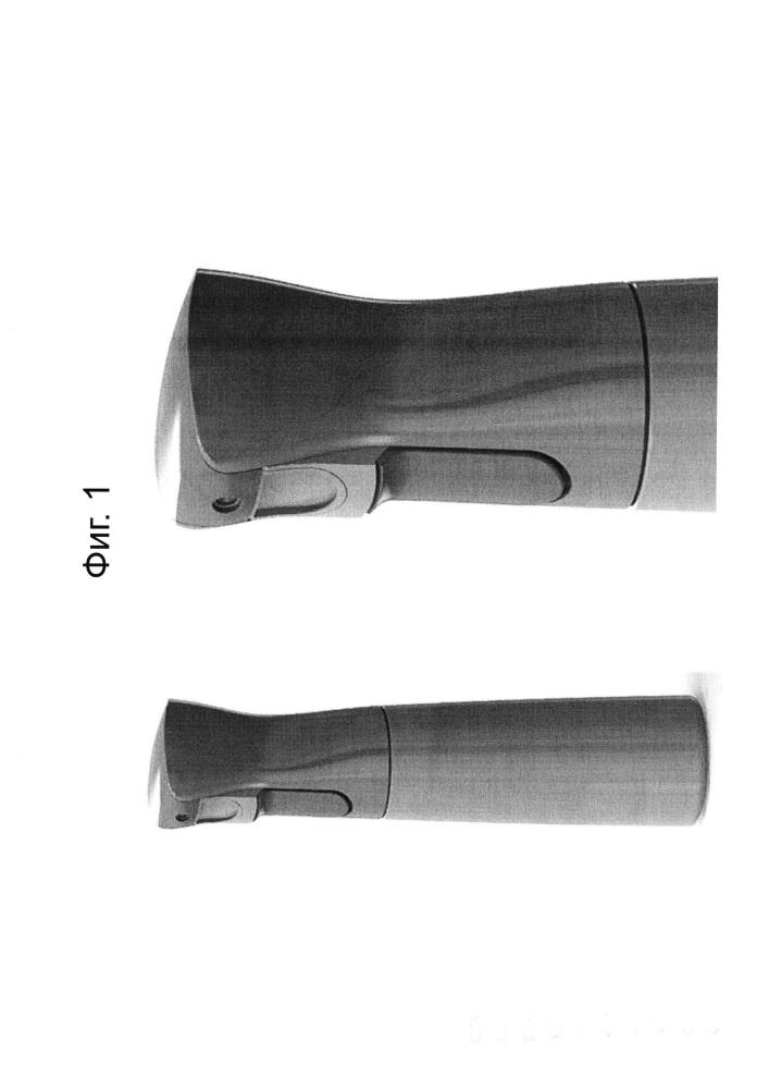 Дозирующее и активируемое распылительные устройства с функциональностью аэрозольного баллончика (flairosol ii)