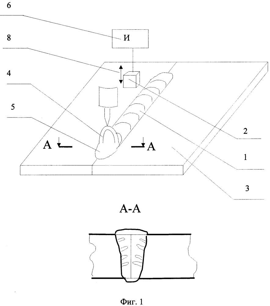 Способ получения сварного соединения металлов