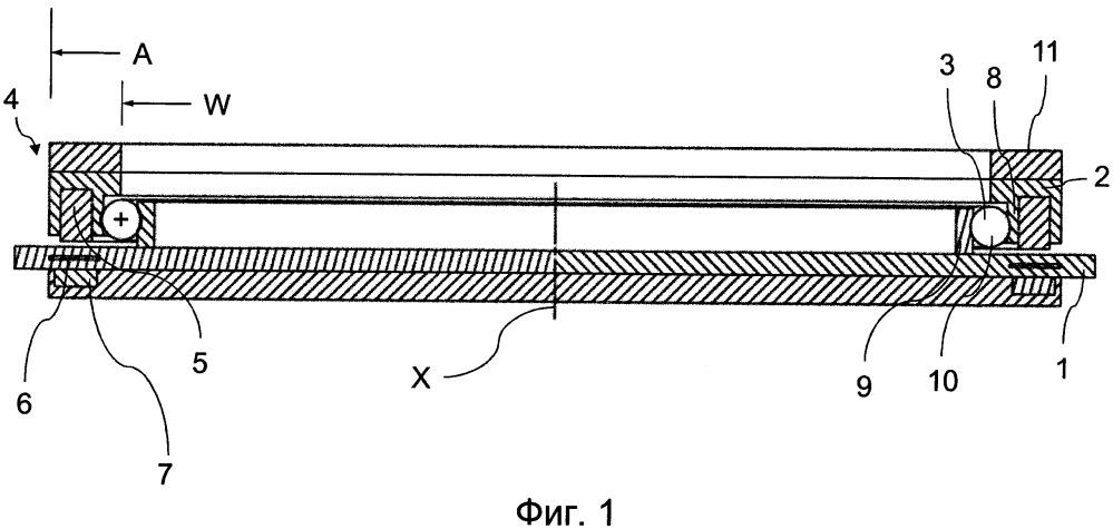 Устройство махового колеса для стабилизации положения космического аппарата