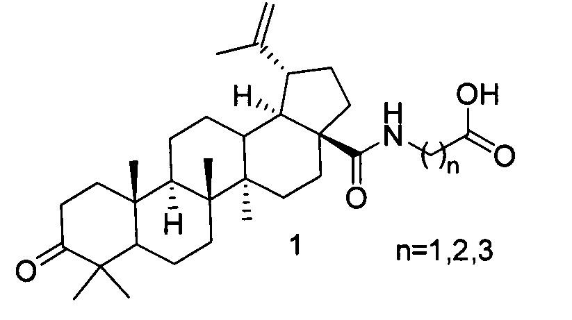 Способ получения n-[3-оксо-20(29)лупен-28-оил]-ω-аминокислот