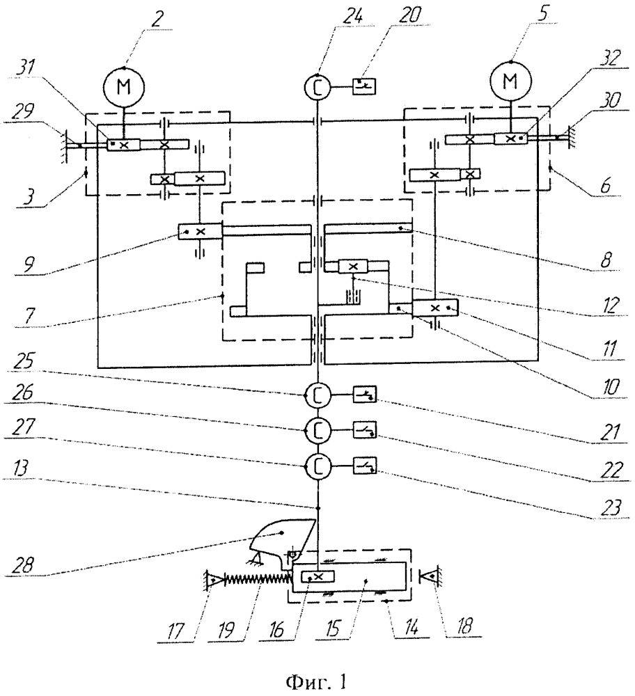 Управляющее устройство для переключателя