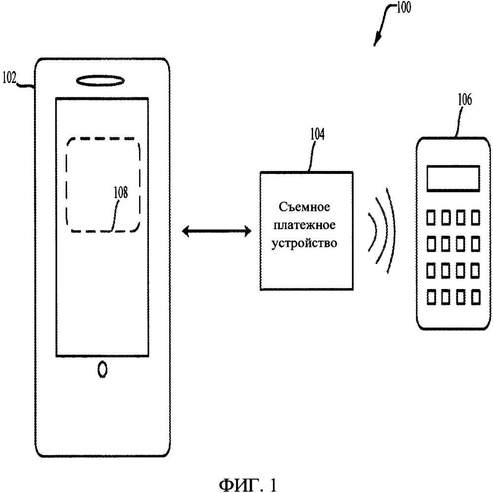 Съемное электронное платежное устройство