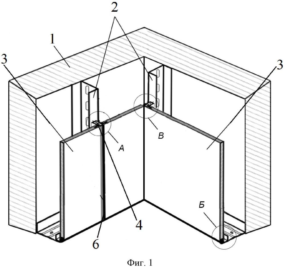 Система крепления панелей