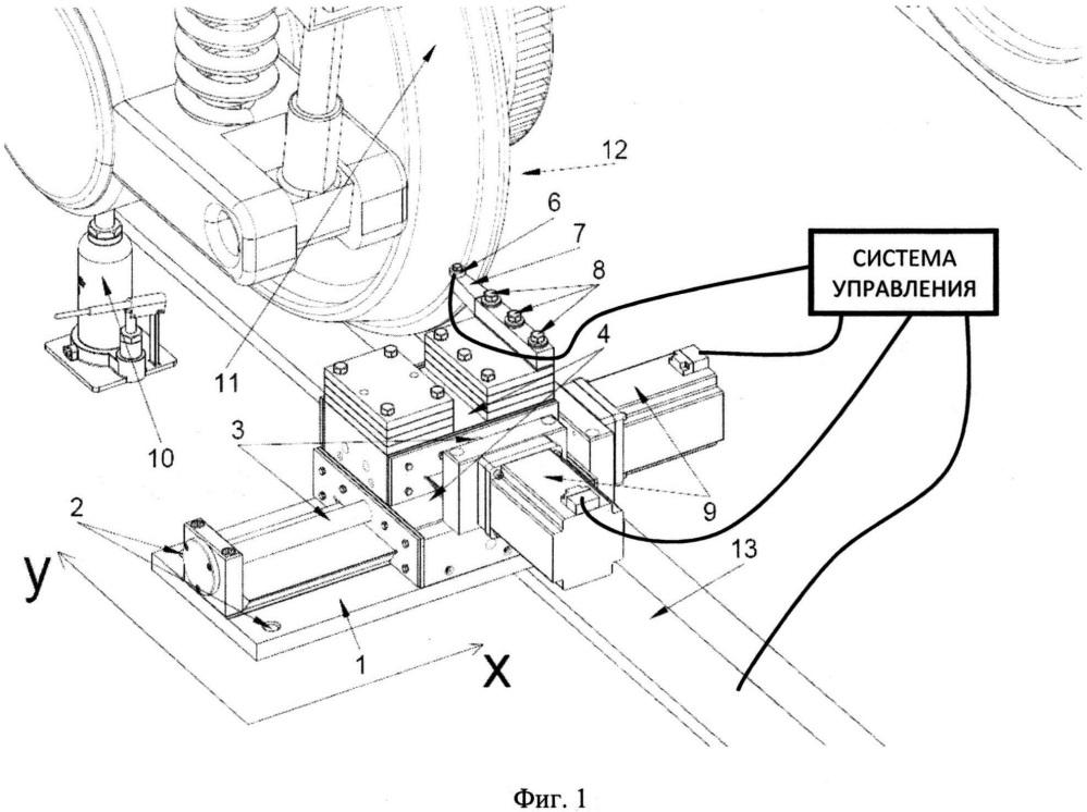 Станок для обточки бандажей колёсных пар тягового подвижного состава