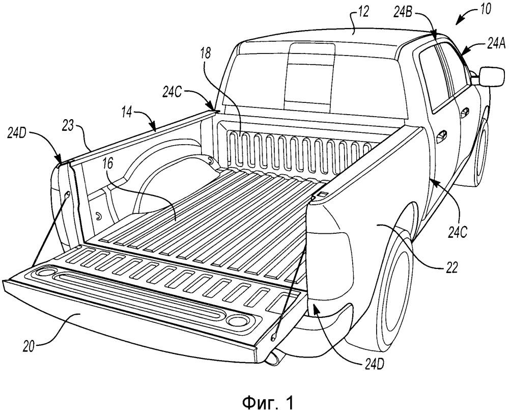 Угловой элемент, узел конструктивного усиления угловой области стойки и узел кузова грузового автомобиля малой грузоподъемности