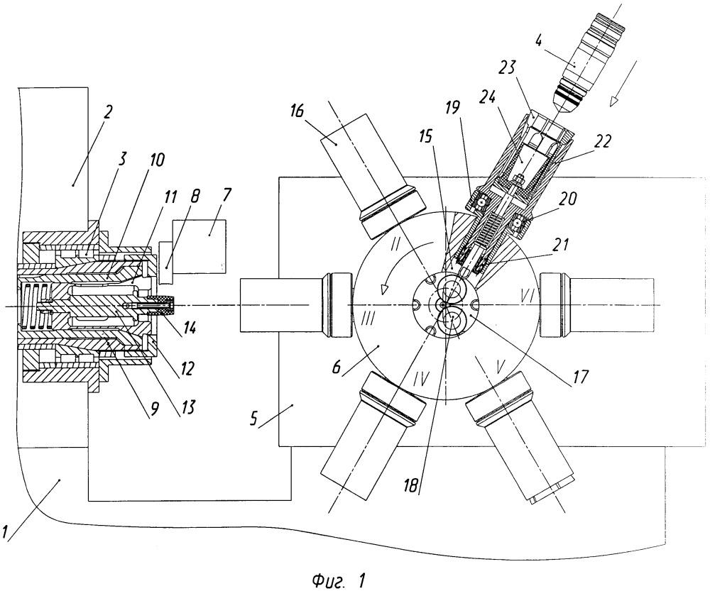 Способ обработки штучных деталей, имеющих полость, на токарно-револьверном автомате