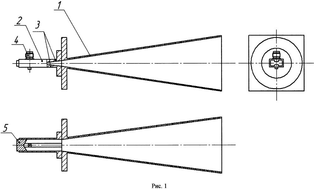 Рупорная антенна