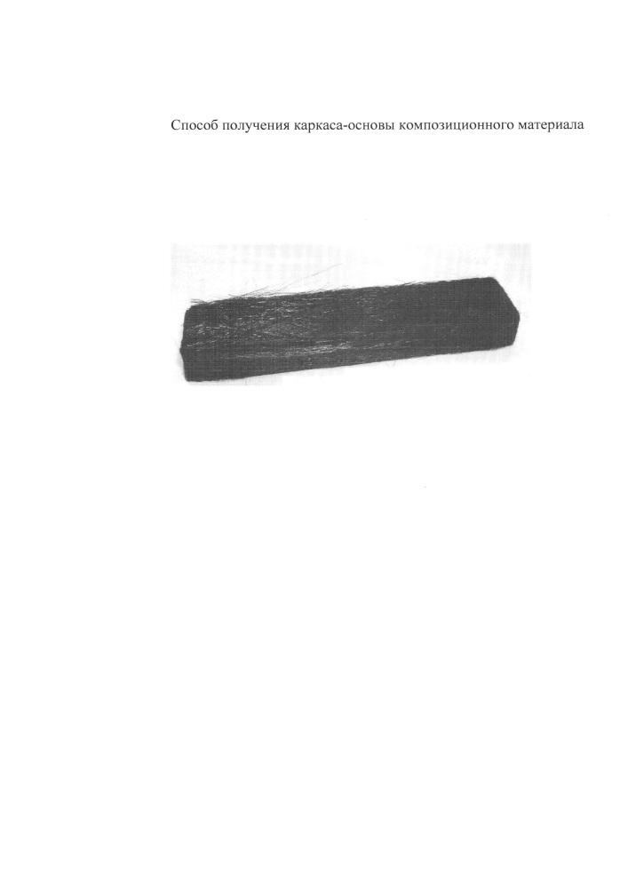Способ изготовления пористого каркаса-основы композиционного материала